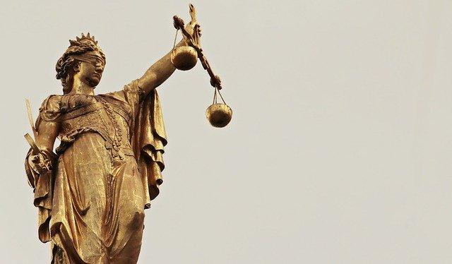 bohyně spravedlnosti