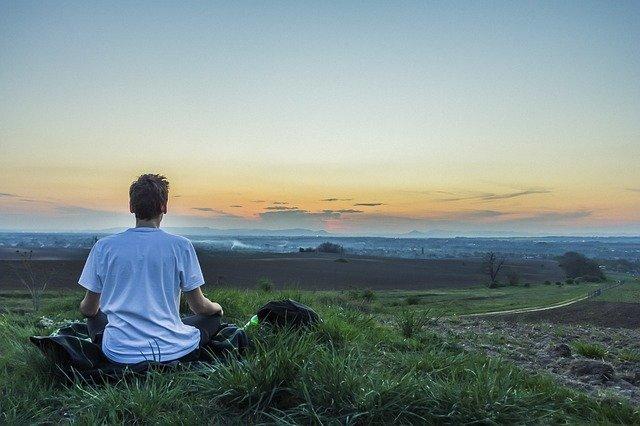 meditace na louce